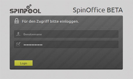SpinOffice Login