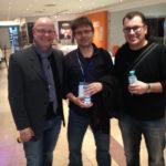 Drei Urgesteine: Alexander Holl, Frank Doerr und Ralf Schwoebel