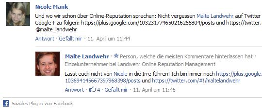 Das Kommentarsystem für externe Websites von Facebook