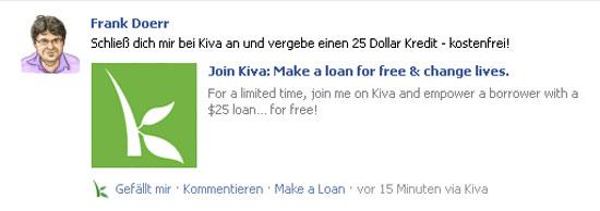 kiva facebook