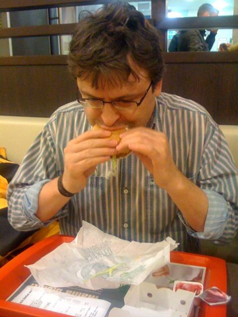 Erster Besuch bei McDonalds