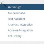 onpage.org Werkzeuge