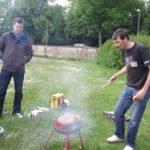 Grillmeister Rue und Andreas Graab