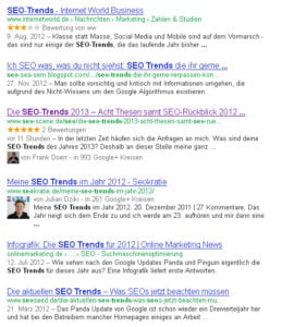SEO Trends Google 2013