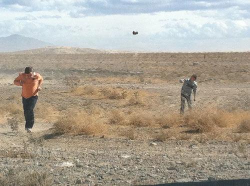 Ein UFO in der Wüste Las Vegas bedroht deutsche SEOs